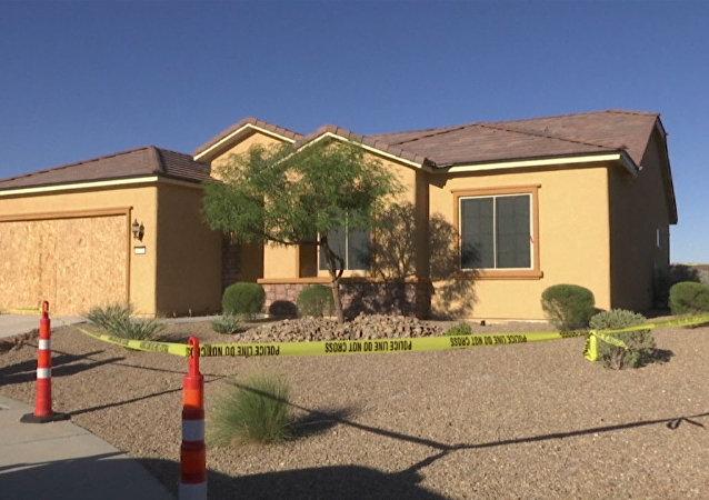 Policisté prohledali dům muže, který střílel v Las Vegas. Video