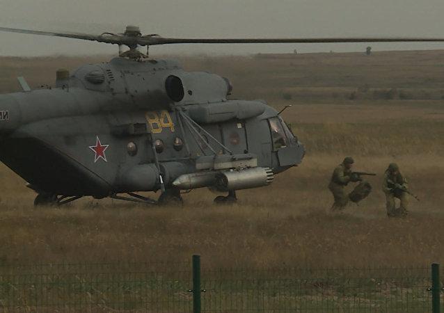 Rusko-srbské cvičení BARS-2017