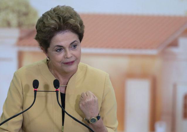 Bývalá prezidentka Brazílie Dilma Rousseffová