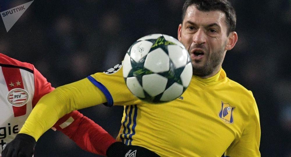 Záložník moldavské fotbalové reprezentace Alexandr Gackan