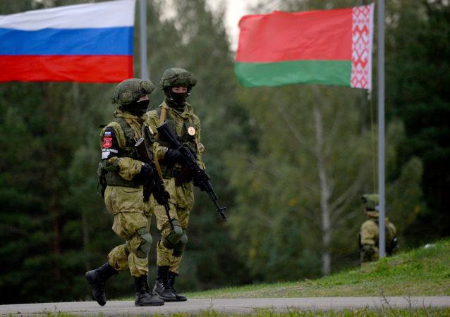 Rusko-běloruské vojenské cvičení Západ 2017
