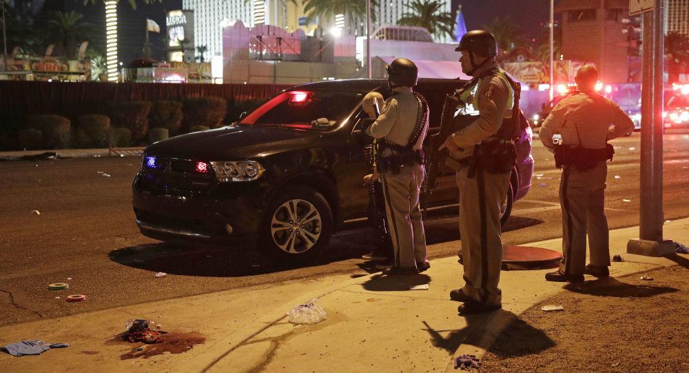 Police na místě střelby