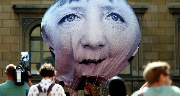 Portrét Angely Merkelové