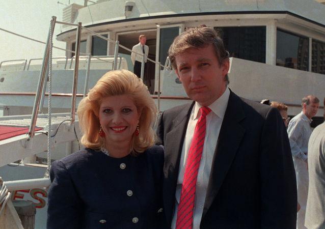 Donald Trump a jeho bývalá manželka Ivana Trumpová