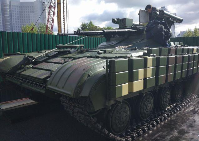 Ukrajinské bojové podpůrné vozidlo Straž