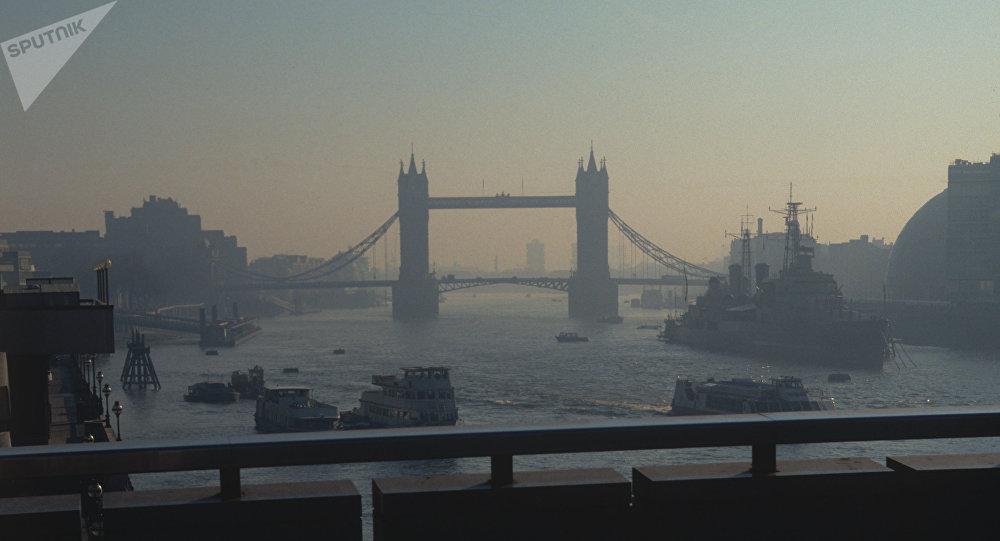 Pohled na Londýn