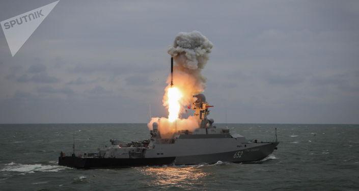 Start rakety Kalibr