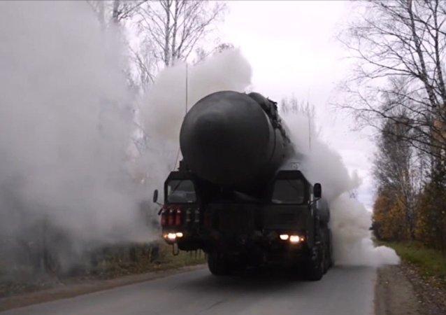 V Rusku se konala rozsáhlá raketová cvičení