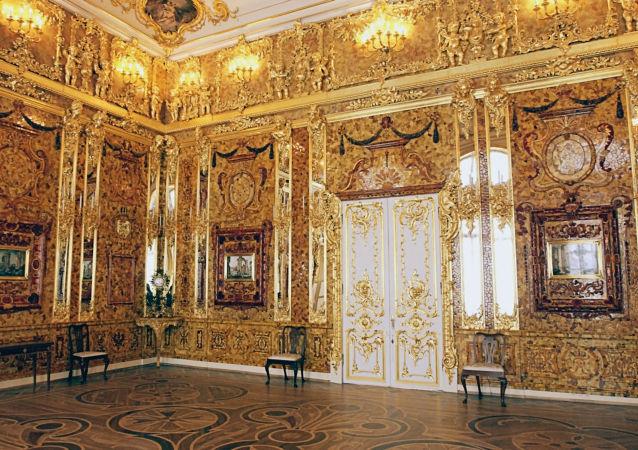 Jantarová komnata v Kateřinském paláci