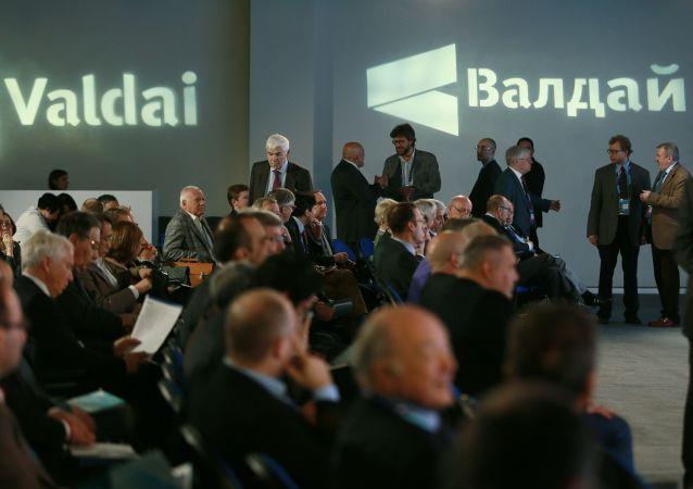 Účastníci mezinárodního diskuzního klubu Valdaj