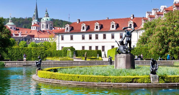 Valdštejnský palác, sídlo Senátu Parlamentu České republiky