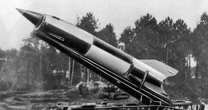 Německá raketa FAU-2