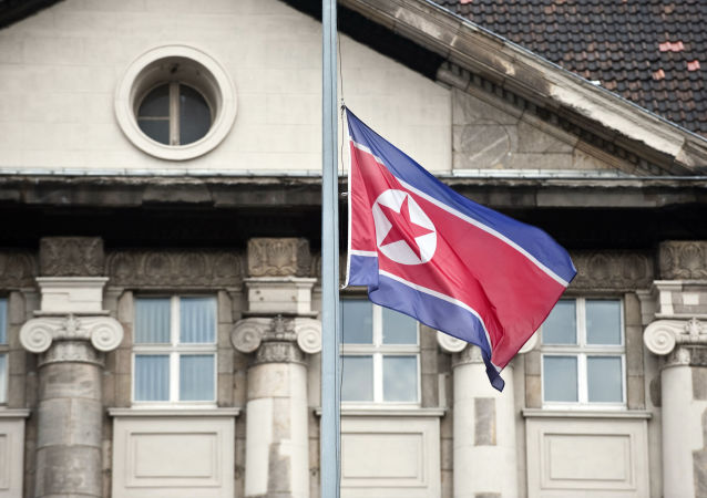 Vlajka KLDR