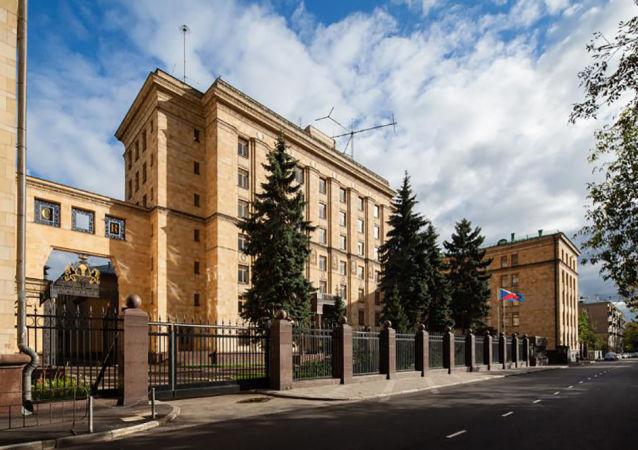 Ambasáda ČR v Moskvě