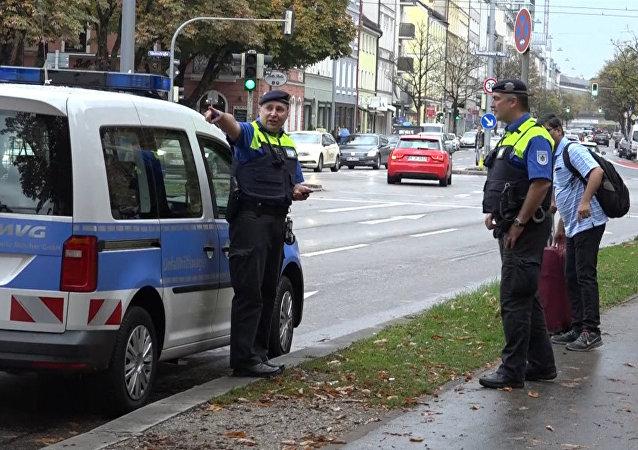 Policie v Mnichově