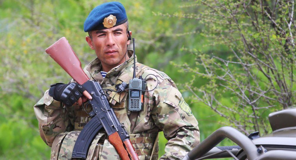 Voják z Tádžikistánu
