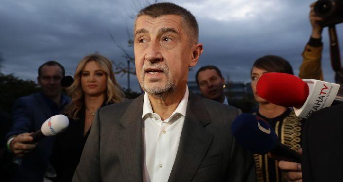 Lídr hnutí ANO Andrej Babiš