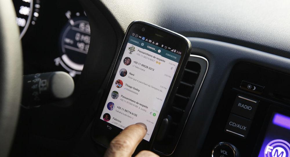Aplikace WhatsApp na ploše mobilu
