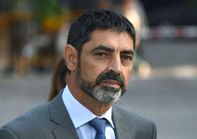 Šéf katalánské policie Mossos d`Esquadra Josep Lluís Trapero,
