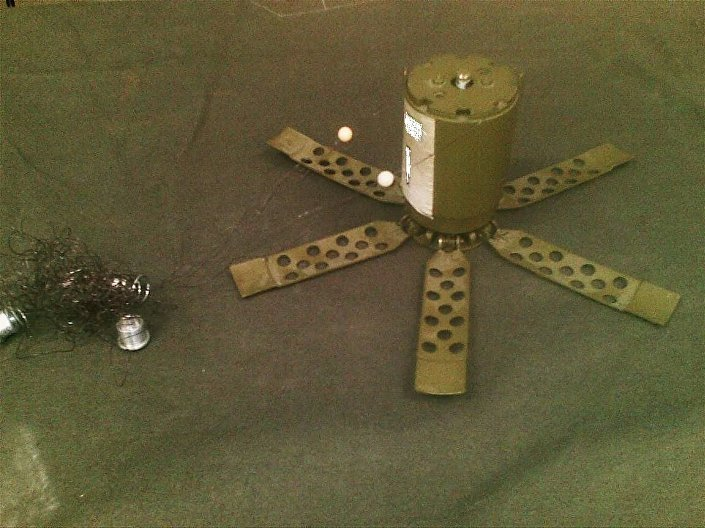Protipěchotní tříštivá natahovací mina POM-2 Otok