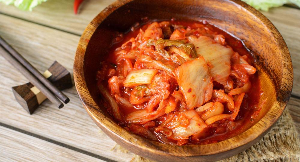 Korejské jídlo kimčchi