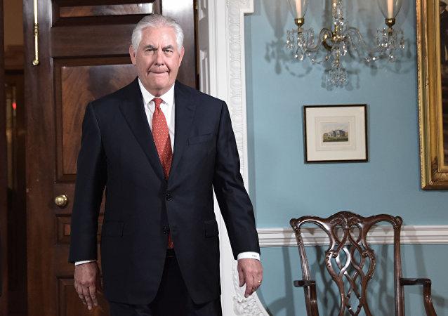 Americký ministr zahraničí Rex Tillerson
