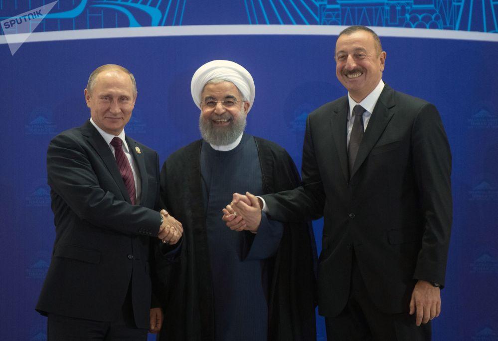 Návštěva Vladimira Putina Íránu