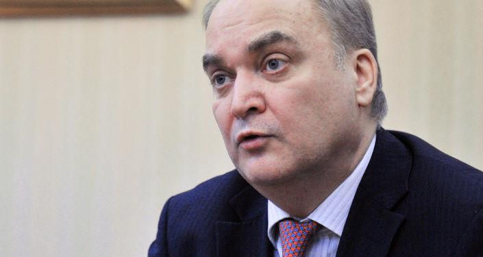 Ruský velvyslanec v USA Anatolij Antonov