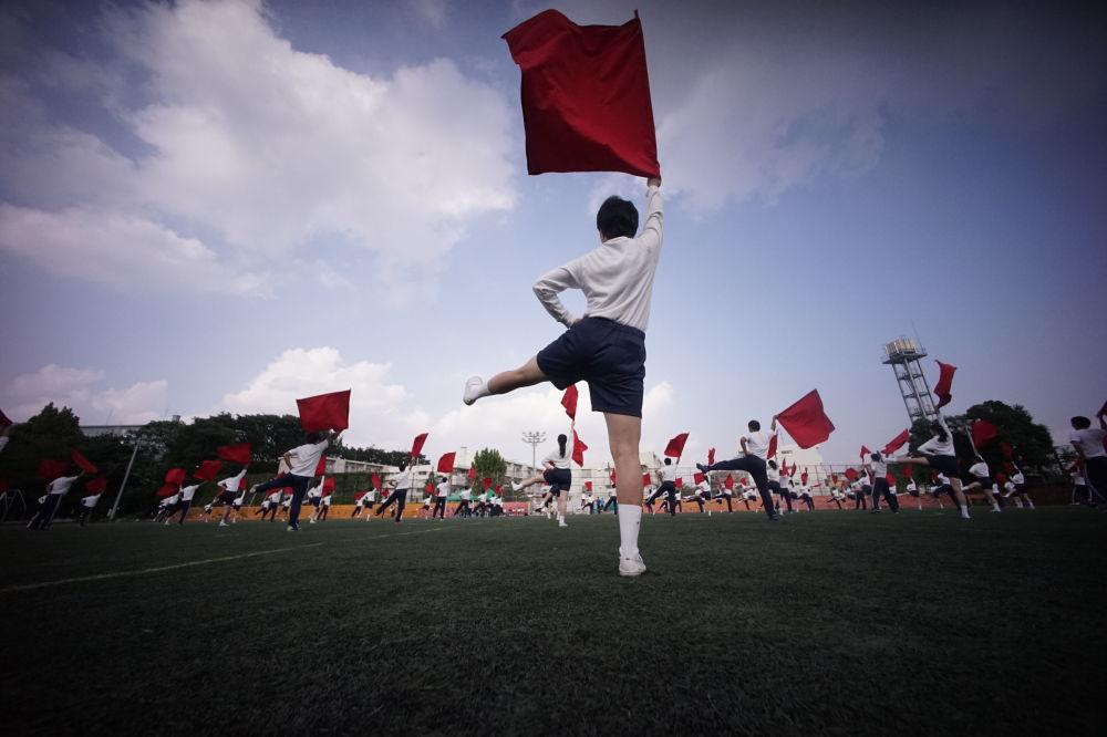 Děti, potomci Korejců, přivezených do Japonska v letech imperialismu, v tokijské škole
