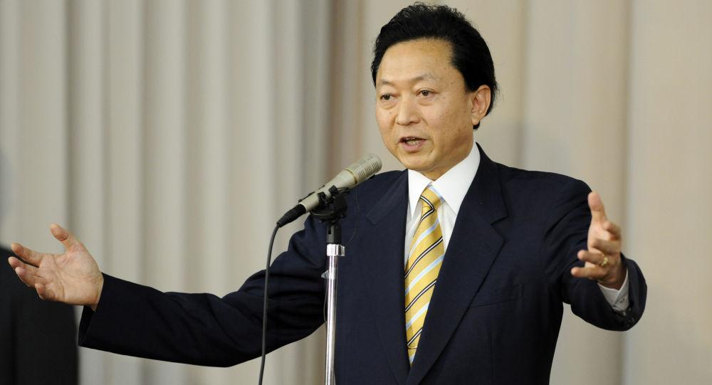 Bývalý japonský premiér Jukio Hatojama