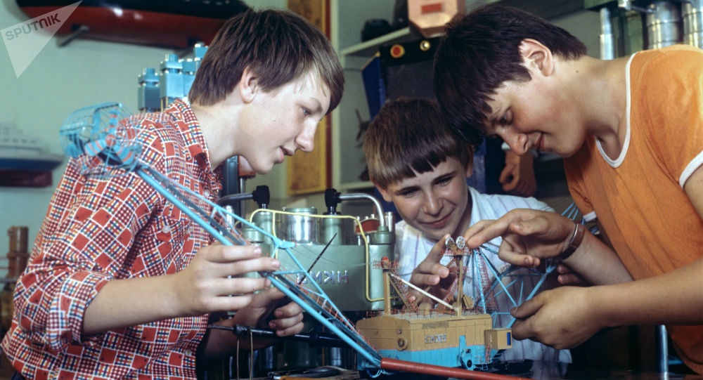 Mladí vývojáři v SSSR