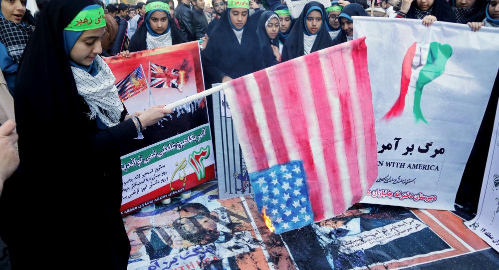 Protiamerické akce v  Íránu