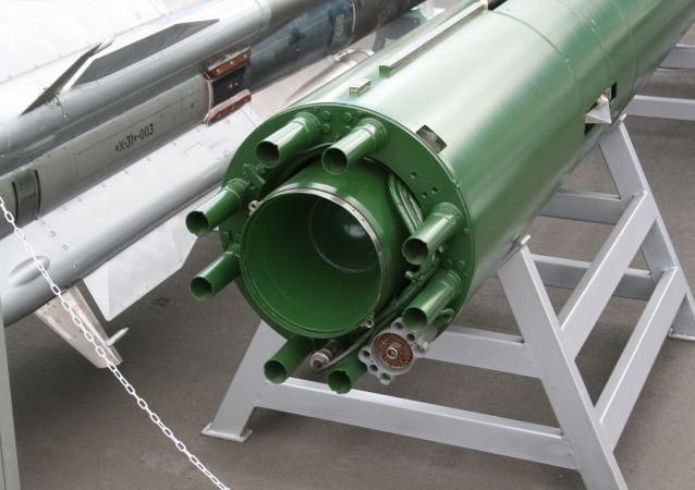 Ruské torpédo Škval