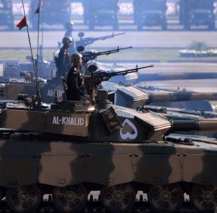 Pákistánské tanky Al-Khalid