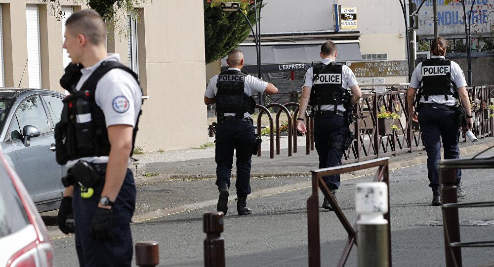 Francouzská policie. Ilustrační foto