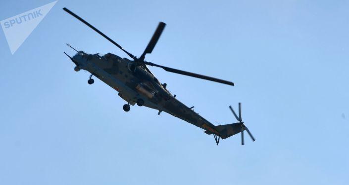 Transportně-bojové vrtulník Mi-35