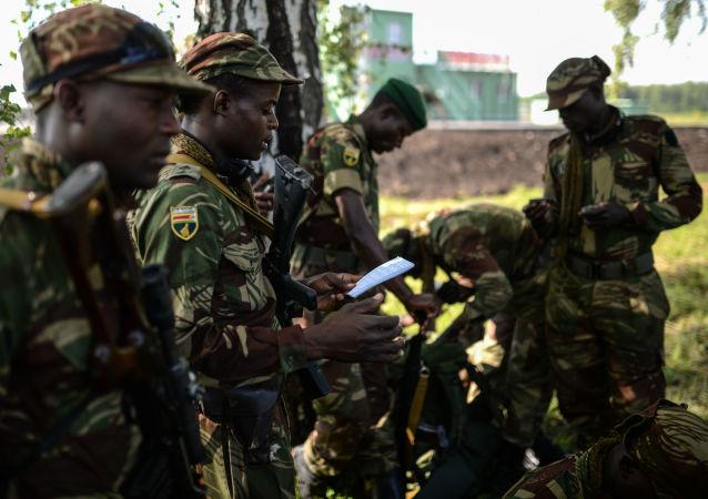 Příslušníci ozbrojených sil Zimbabwe. Ilustrační foto