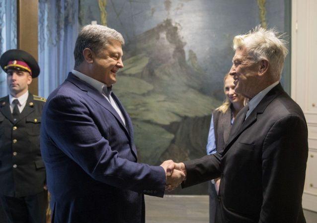 Petro Porošenko a David Lynch