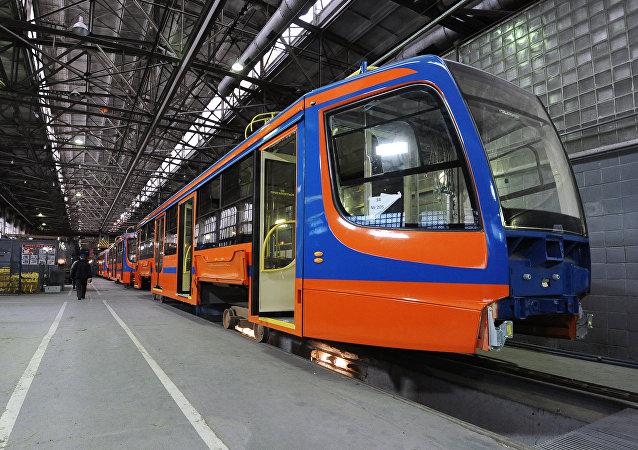 Výroba tramvají