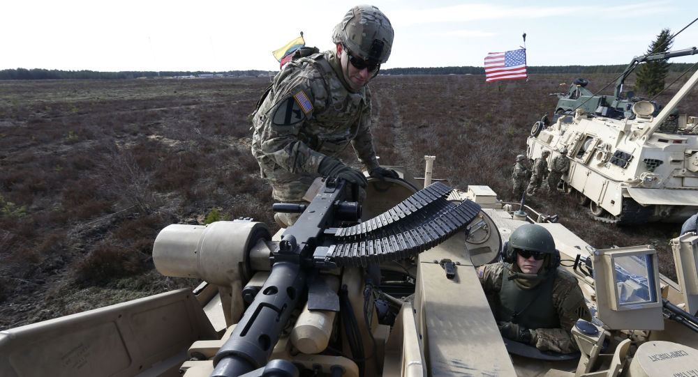 Američtí vojáci v Litvě