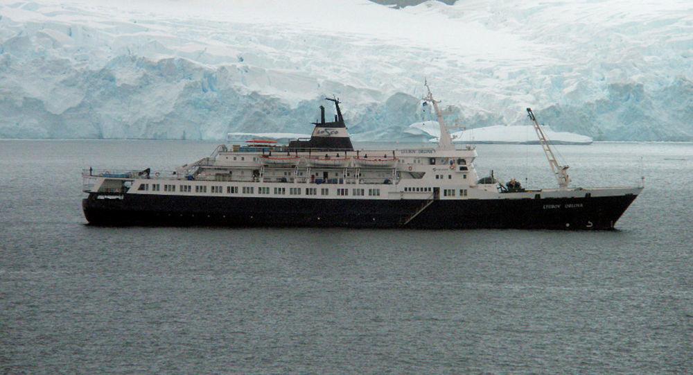 Sovětská výletní loď Ljubov Orlova