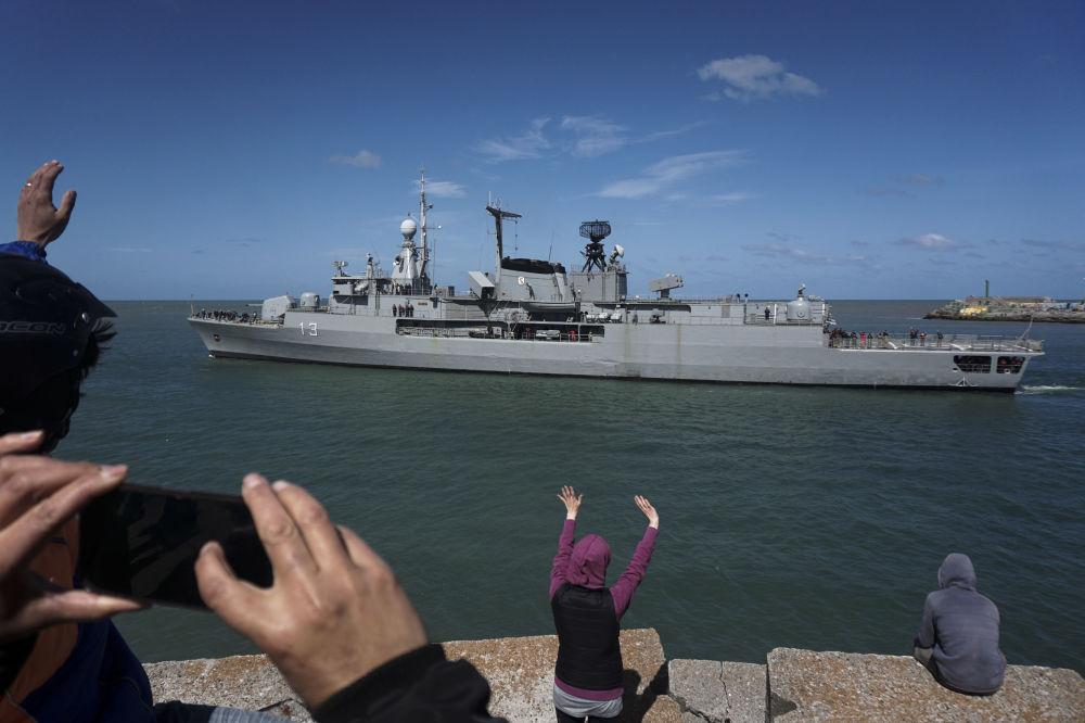 Pátrání po zmizelé argentinské ponorce