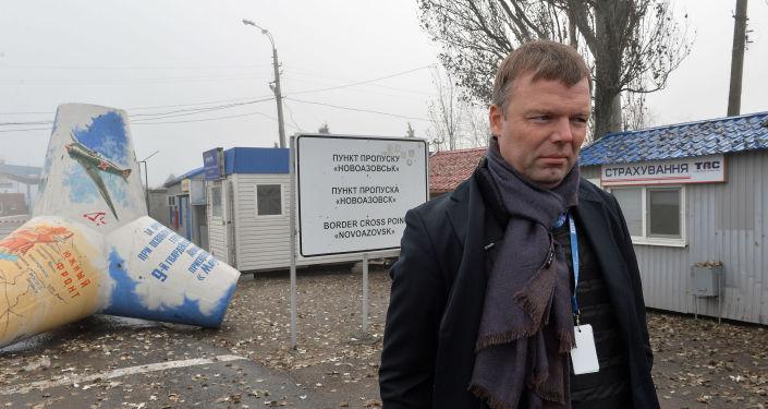 První místopředseda Speciální monitoringové mise OBSE na Ukrajině Alexandr Hug