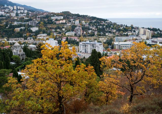 Pohled na Jaltu, Krym. Ilustrační foto