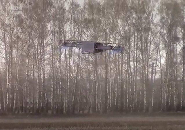 Ruský Hulk: čtenáři britských médií zhodnotili nový ruský dron. Video