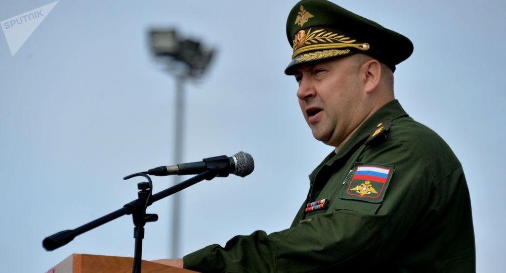 Generálplukovník Sergej Surovikin