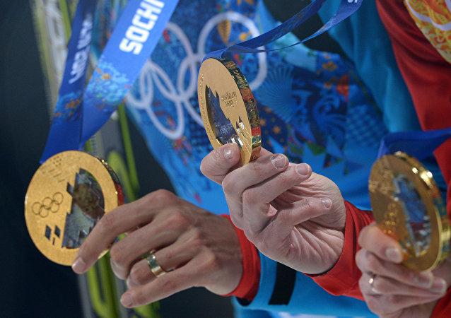 Medaile z OH 2014