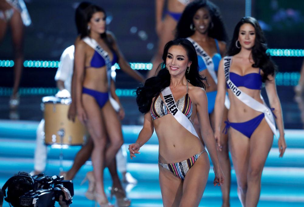 Účastnice soutěže krásy Miss Universe 2017 v Las Vegas