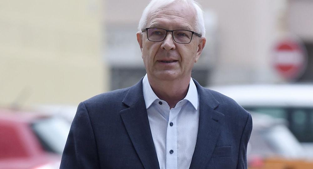 Kandidát na post českého prezidenta, bývalý ředitel Akademie věd Jiří Drahoš