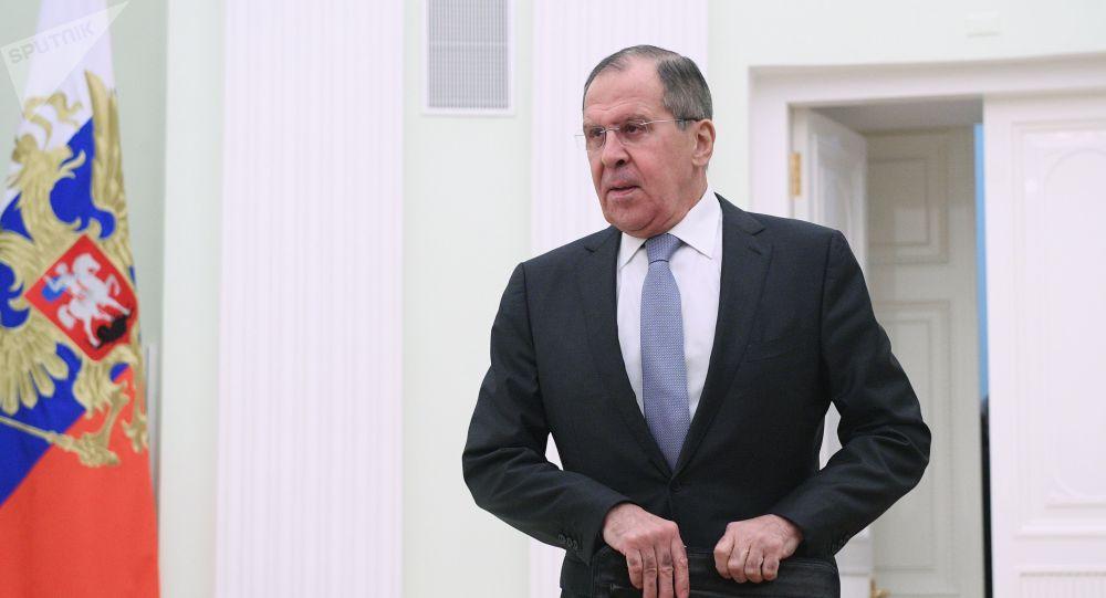 Ruský ministr zahraničí Sergej Lavrov. Ilustrační foto